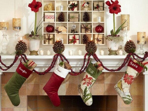 Новогодний декор: ТОП-100 фото лучших идей по оформлению украшений в интерьере квартиры или дома