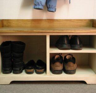 Как сделать полку для обуви своими руками — простые и сложные варианты. Пошаговая инструкция с фото и описанием