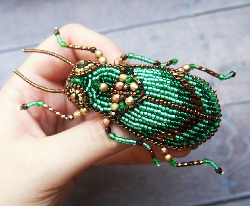Брошь из бисера своими руками: фото лучших вариантов, поэтапный мастер-класс по созданию своими руками, схемы плетения