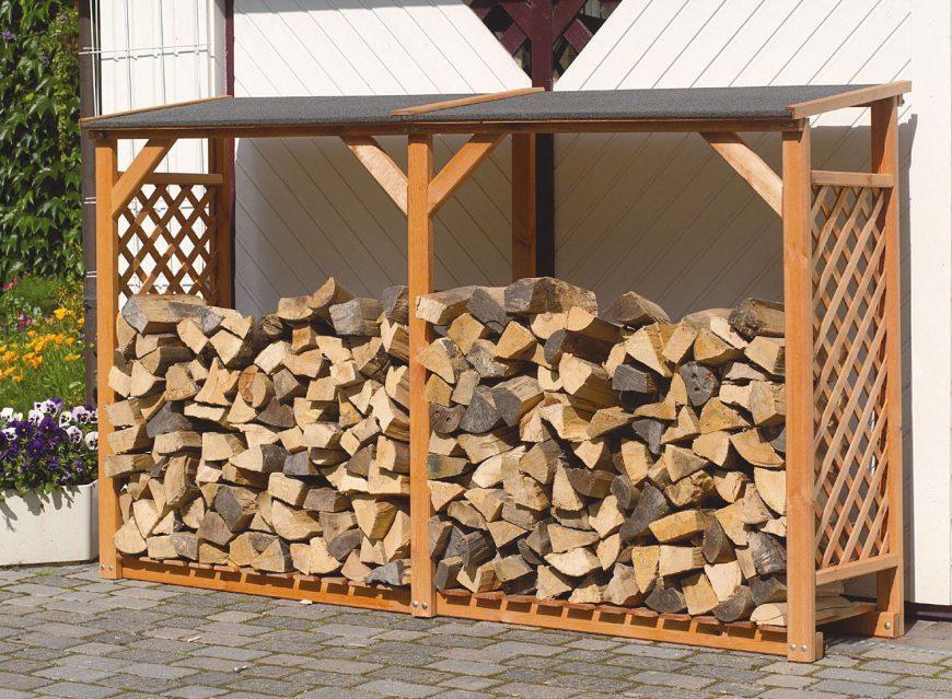 Дровница для дачи своими руками: фото, примеры конструкций, размеры. Обзор простых и сложных вариантов хранения дров на участке
