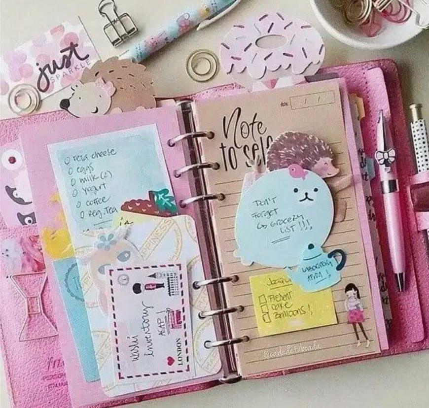 Идеи для лд (личного дневника девочки): пошаговая инструкция по изготовлению своими руками, фото-обзоры лучших вариантов