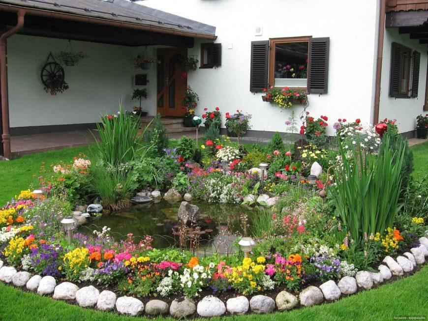 Как обустроить палисадник: советы, идеи, практические советы. Высаживаем красивые цветы перед домом (инструкция + фото)