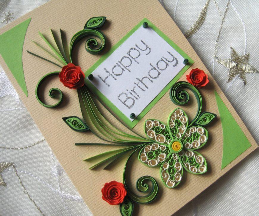Как сделать открытку на день рождения: пошаговая инструкция с фото и описанием
