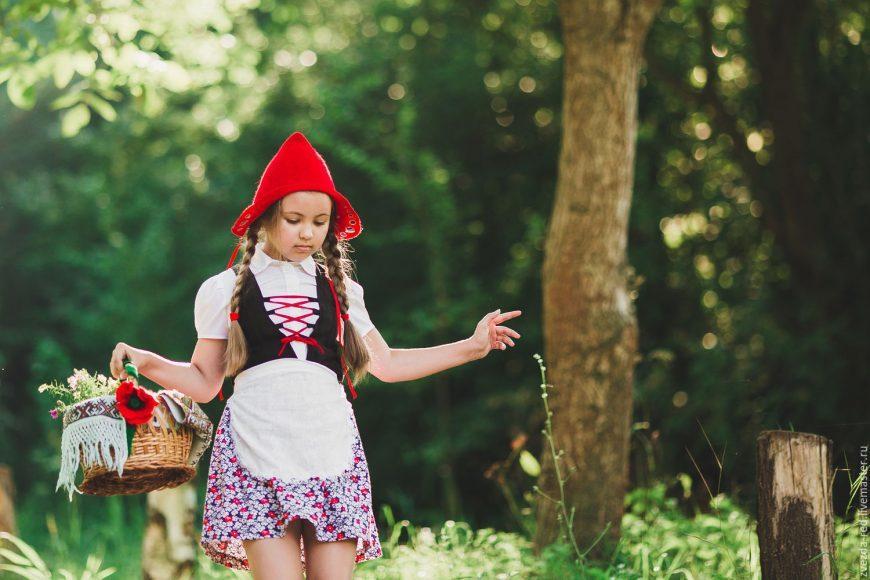 Костюм красной шапочки своими руками: обзор лучших идей, как сшить интересный костюм на Новый Год (115 фото)