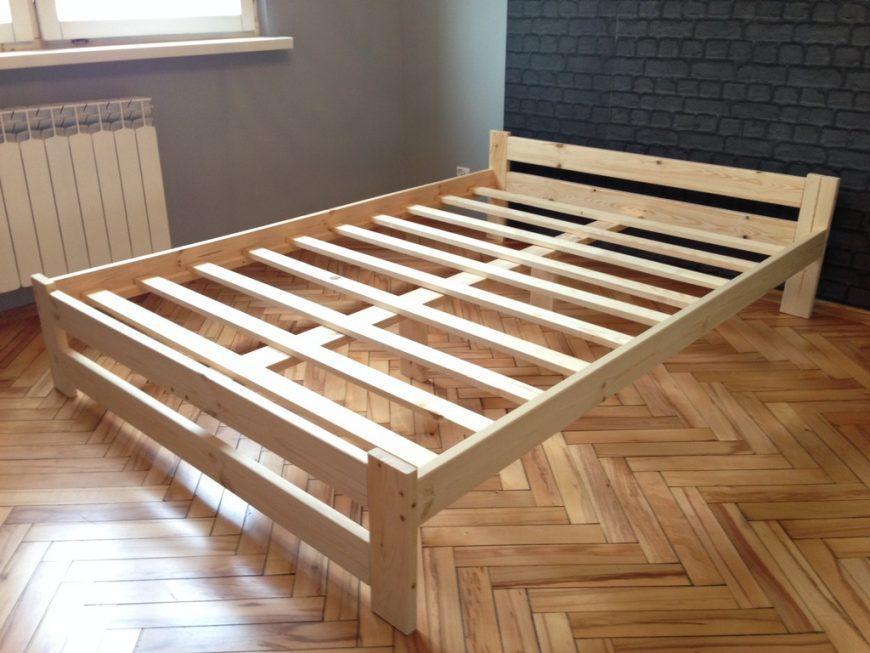 Кровать своими руками: чертежи, схемы, размеры. Инструкция с фото и пошаговым руководством
