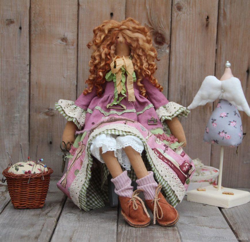 Кукла Тильда своими руками — простая инструкция для начинающих. Готовые выкройки и схемы от мастериц