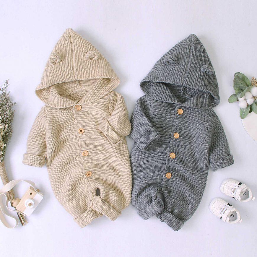 Вязаные комбинезоны для новорожденных (130 фото) — способы вязания своими руками + подробные схемы для начинающих