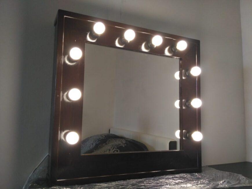 Зеркало с подсветкой своими руками — пошаговый мастер-класс по изготовлению своими руками, фото видов подсветки