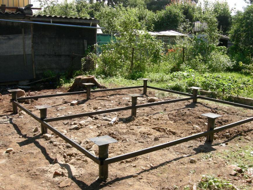 Фундамент для бани: критерии выбора, пошаговое руководство для начинающих, инструкция для сооружения своими руками